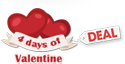 4 days of Valentine Deal