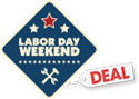 Labor Day Weekend Deal